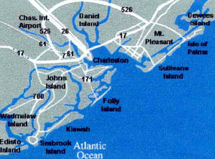 Directions To Folly Beach And Fred Holland Realty